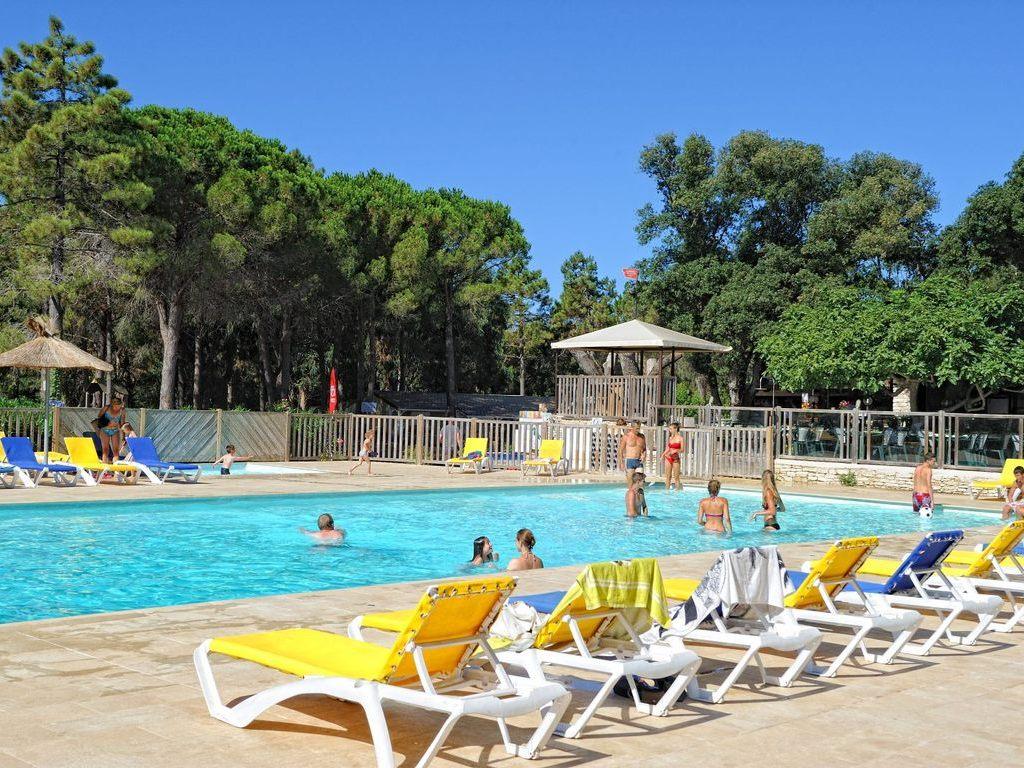 Camping campo di liccia bonifacio 14 mobil homes d s 214 - Camping bonifacio piscine ...