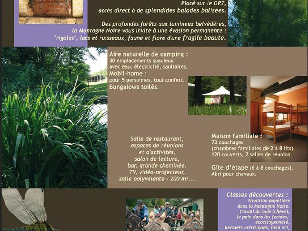 Camping familial de vacances peyrebazal les brunels for Camping embrun avec piscine 4 etoiles
